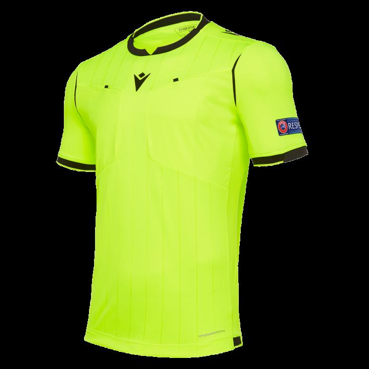 Maillot arbitre UEFA jaune