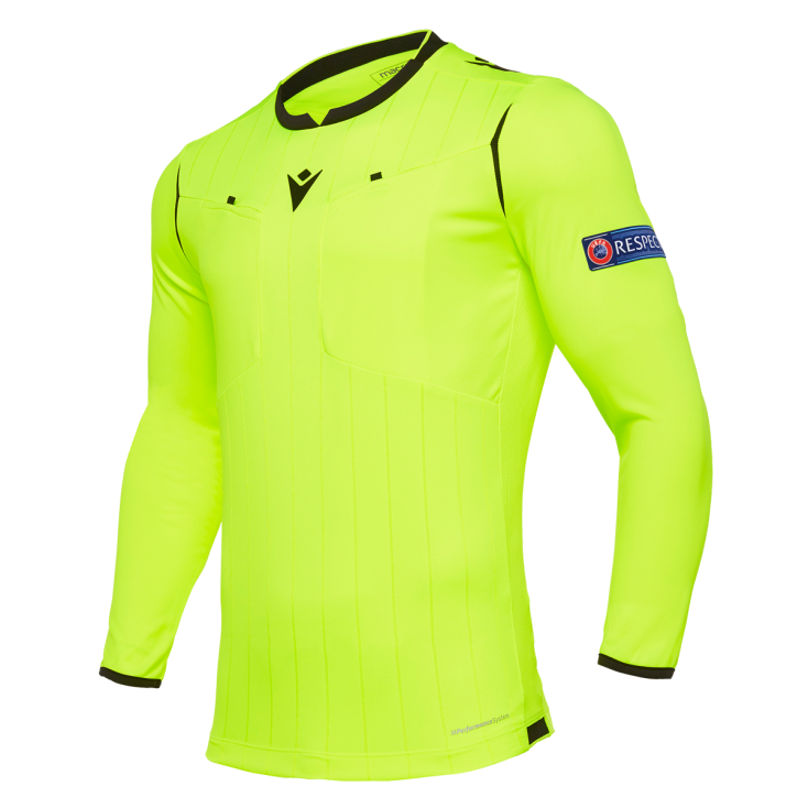 Referee shirt UEFA yellow