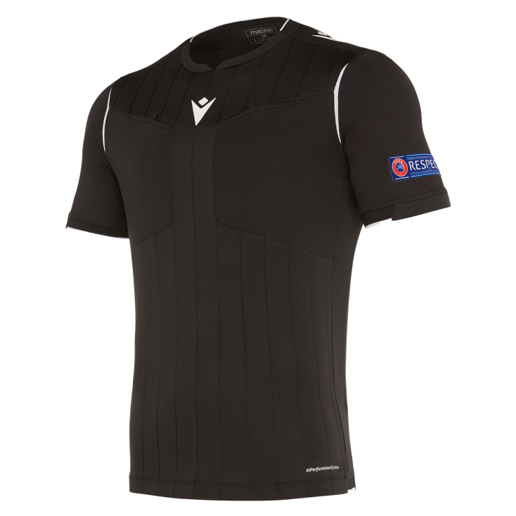 Referee shirt UEFA black