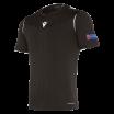 Camiseta de árbitro UEFA negra
