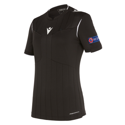 Referee shirt women UEFA black