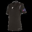Camiseta de árbitro mujer UEFA negra