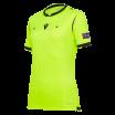 Maillot arbitre femme UEFA jaune