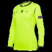 Camiseta de árbitro mujer UEFA amarilla