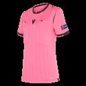 Camiseta de árbitro mujer UEFA rosa