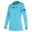 Maillot arbitre femme UEFA bleu
