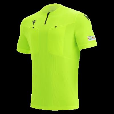 Camiseta de árbitro UEFA amarilla 2021