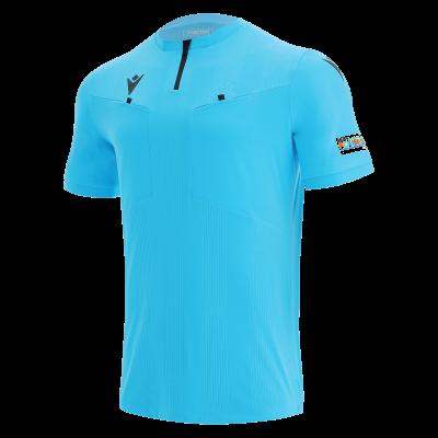 Camiseta de árbitro UEFA azul 2021