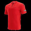 Camiseta de árbitro UEFA roja 2021