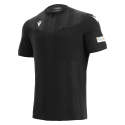 Camiseta de árbitro UEFA negra 2021