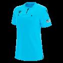 Camiseta de árbitro mujer UEFA azul 2021
