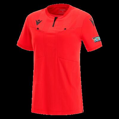 Maillot arbitre femme UEFA rouge 2021