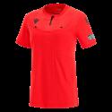 Camiseta de árbitro mujer UEFA rojo 2021