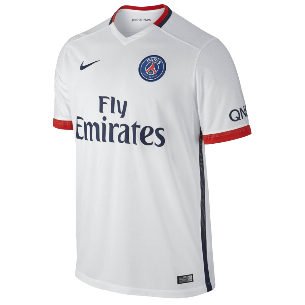 Maillot jr psg ext rieur 2015 16 nike styl 39 foot for Maillot psg exterieur 16 17